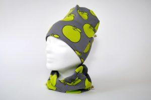 Mütze+Loop Apfel